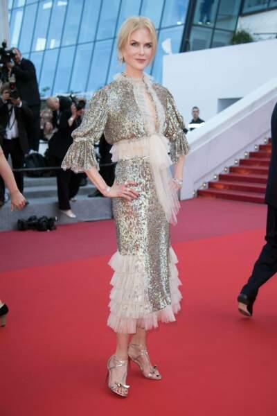 Nicole Kidman prend 20 ans dans la tronche avec cette robe, dommage !