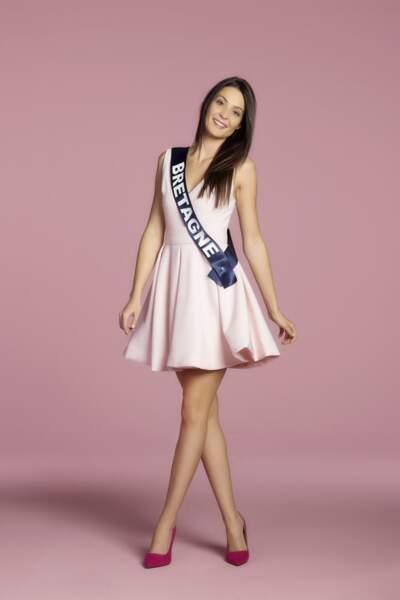 Caroline Lemee, Miss Bretagne
