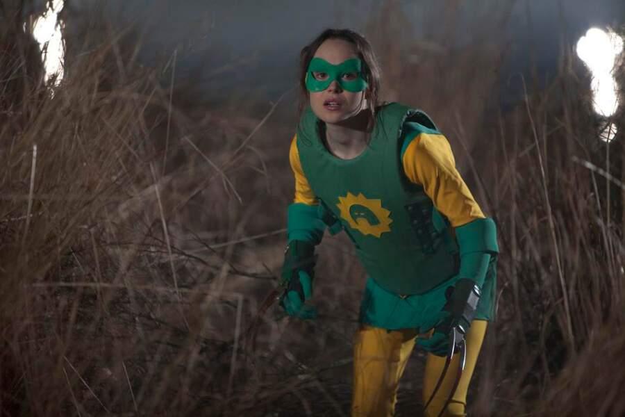 2010 - Super   Ellen Page n'a pas non plus de pouvoir dans ce film.