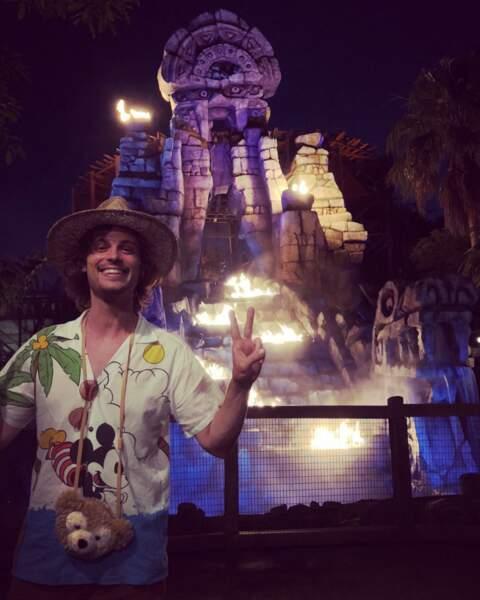 Matthew Gray Gubler, lui, préfère les parcs d'attraction