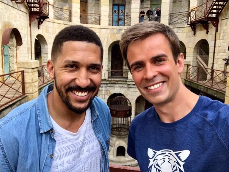 Steven Clérima, conseiller de programmes chez France TV et Jean-Baptiste Marteau, joker du 13H de France 2