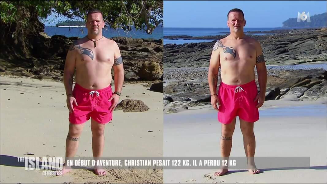 Le rugbyman Christian Califano a lui aussi fondu en perdant 12 kilos