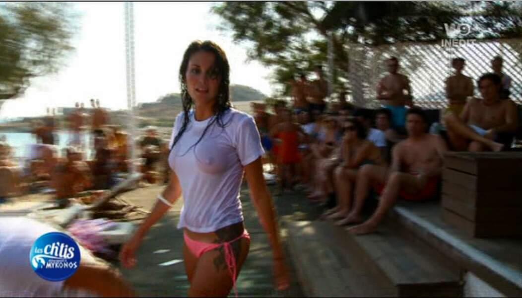 Christina, la Miss Mykonos