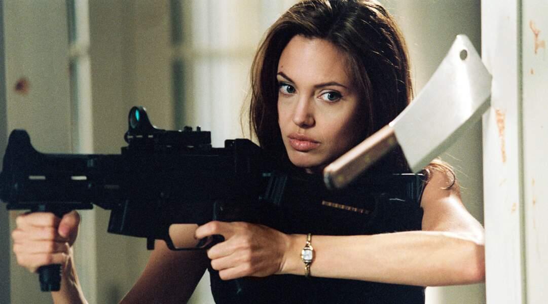 Mr & Mrs Smith (2005) : la tueuse à gage cachait bien son jeu...