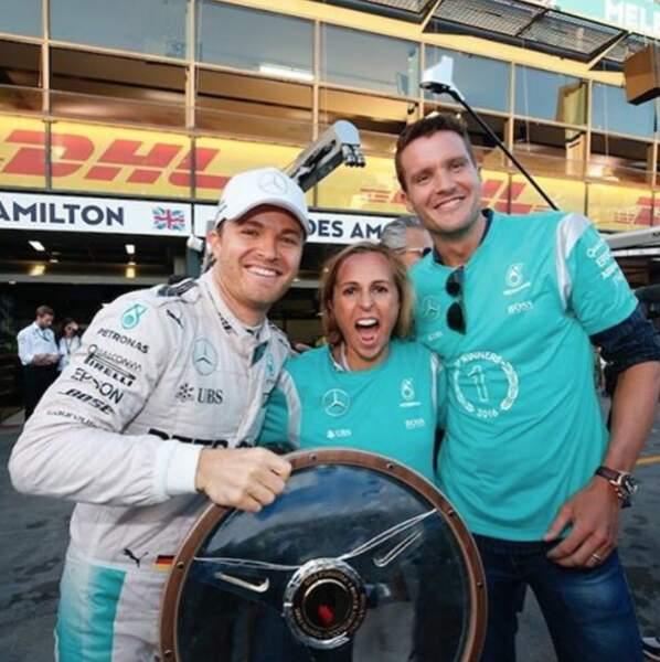 Pendant ce temps, la saison de F1 reprenait avec le triomphe de Nico Rosberg en Australie
