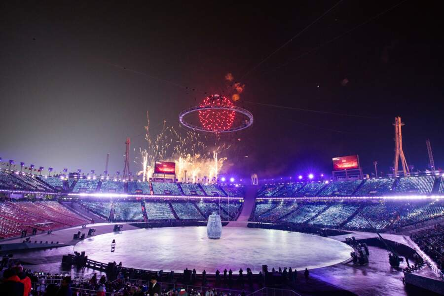 C'est parti pour les 23e Jeux Olympiques d'hiver à Pyeongchang !