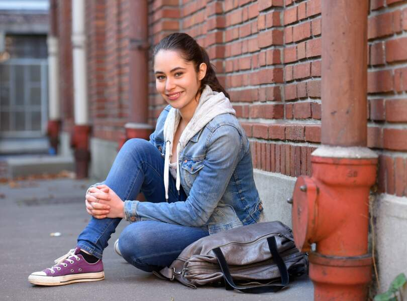 Saison 5, Salomé est une lycéenne, en plein dans l'adolescence !
