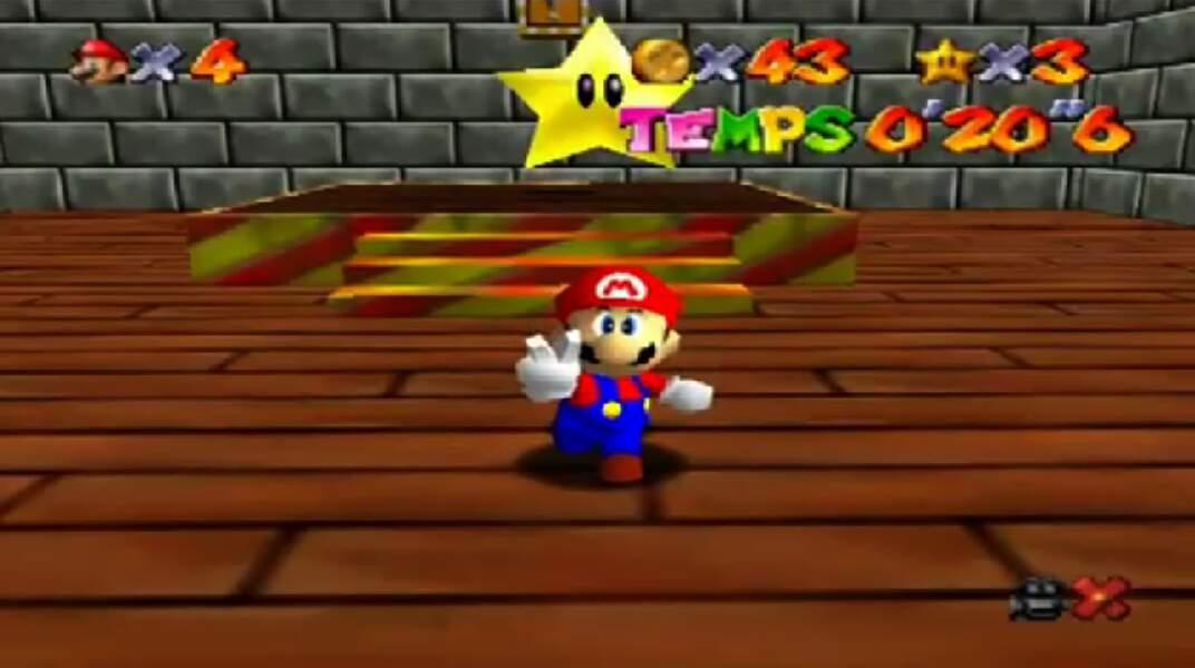 1997 - Super Mario 64 (Nintendo 64)
