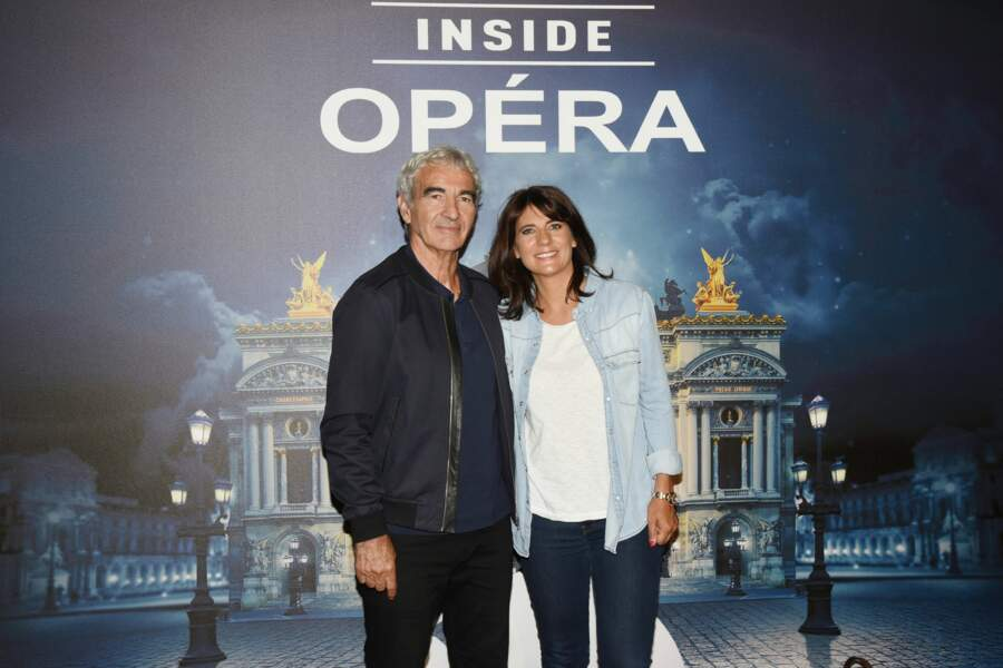 Estelle Denis et Raymond Domenech se sont rencontrés sur Infosport, chaîne où ils travaillaient tous les deux