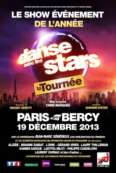 L'affiche de la tournée Danse avec les stars