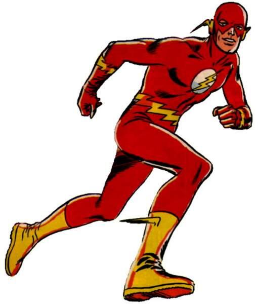 Avec son costume rouge et son éclair sur le torse, le personnage de Flash est facilement reconnaissable