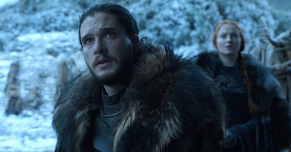 En sept saisons, Jon Snow est devenu le Roi du Nord