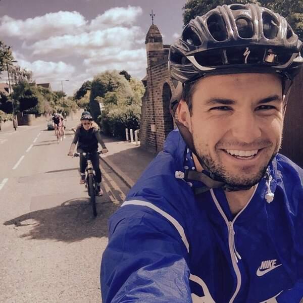 Dimitrov s'entraîne aussi pour le tour de France