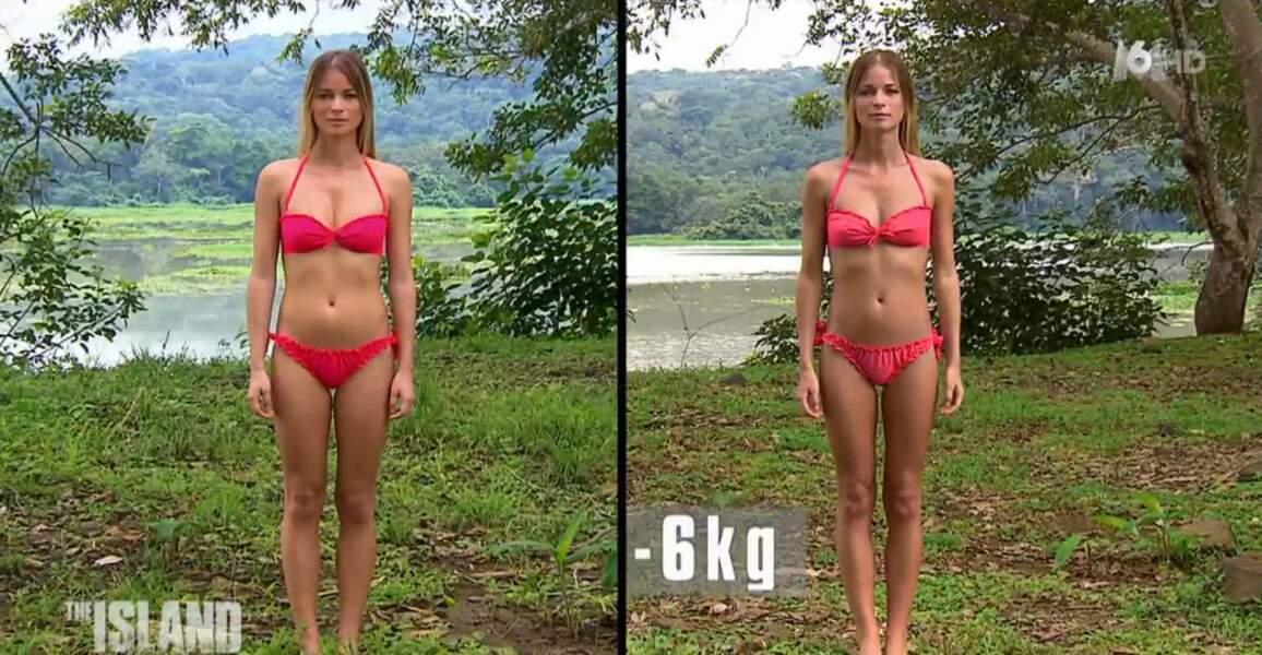 Vera, déjà très svelte au début de l'aventure, s'est délestée de 6 kilos