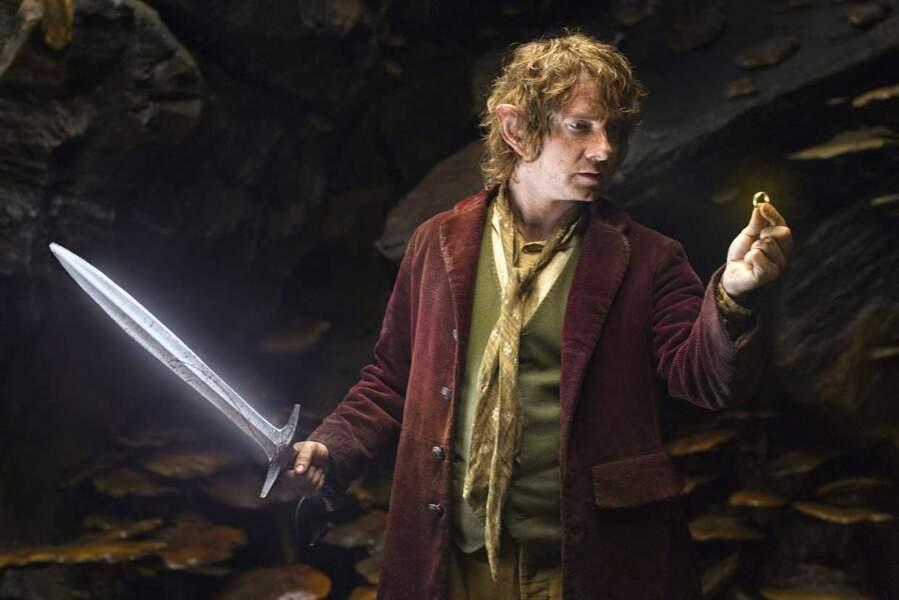 Martin Freeman alias Bilbo Baggins dans Le Hobbit : La désolation de Smaug