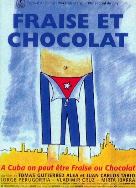 """A Cuba, être """"à voile ou à vapeur"""" se dit être """"fraise ou chocolat"""" (Fraise et chocolat)"""