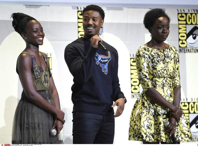 Lupita Nyong'o (Star Wars VII) et Danai Gurira (Michonne dans The Walking Dead) seront aussi de la partie