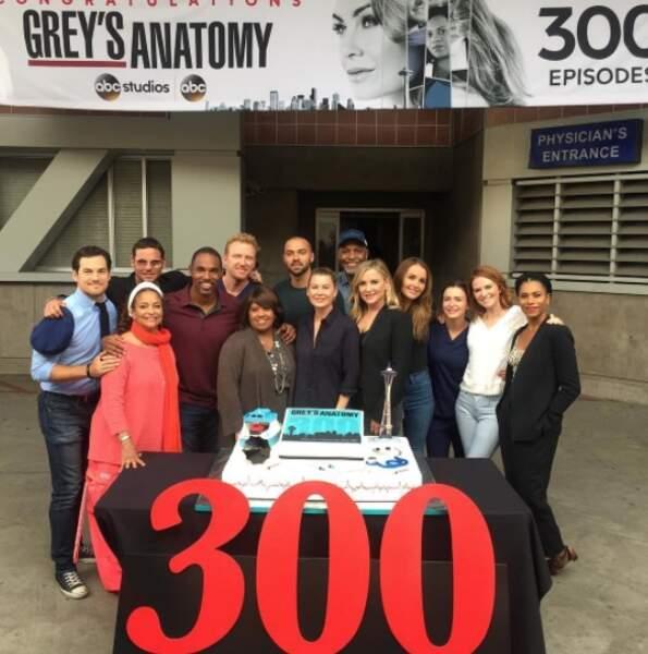 Déjà 300 épisodes pour la série médicale lancée en 2005