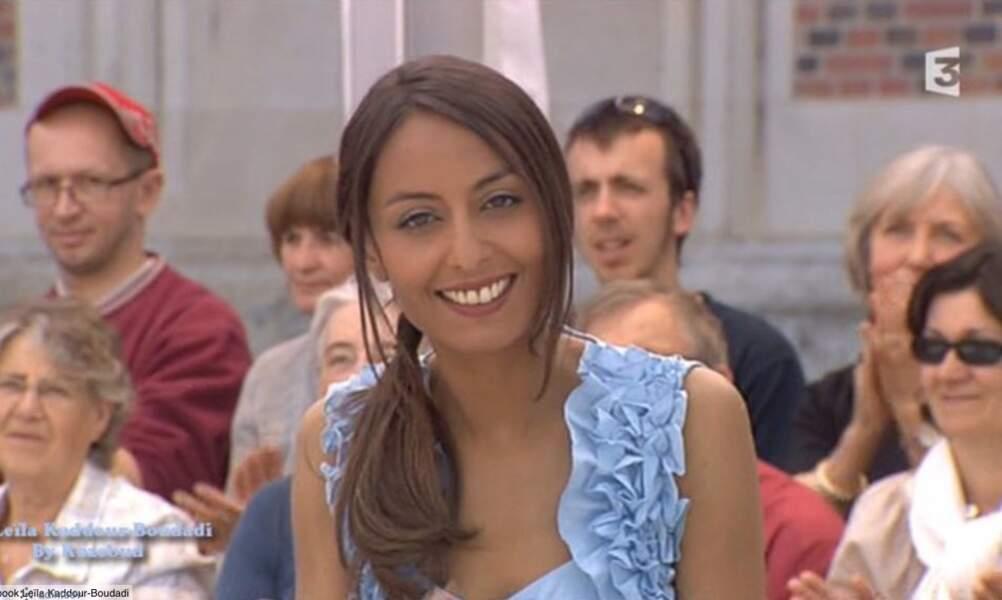 En 2011, Leila Kaddour-Boudadi est chroniqueuse dans Midi en France sur France 3