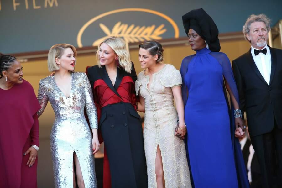 Le jury à la clôture du Festival de Cannes
