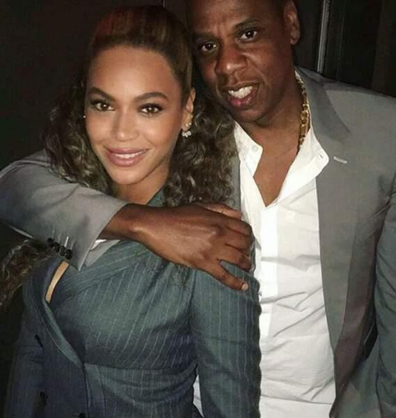 Beyoncé et Jay-Z voient la vie de la même couleur.