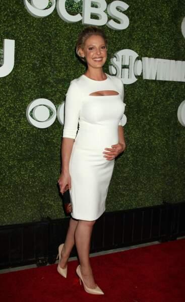 Première grossesse pour Katherine Heigl, déjà maman de deux enfants adoptés
