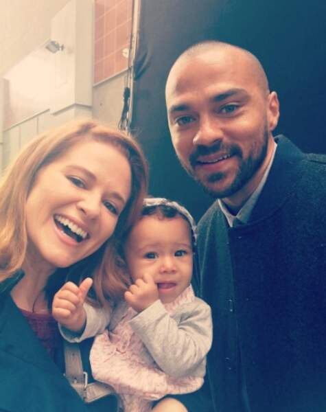 """Une jolie photo de famille pour """"Japriet"""" comme le dit Sarah Drew"""