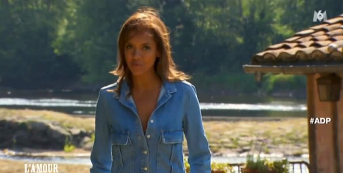 Karine Le Marchand, elle, est toujours au top avec sa combi en jean...