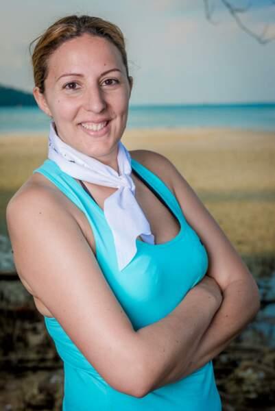 Myriam, candidate de Koh-Lanta : l'île au trésor