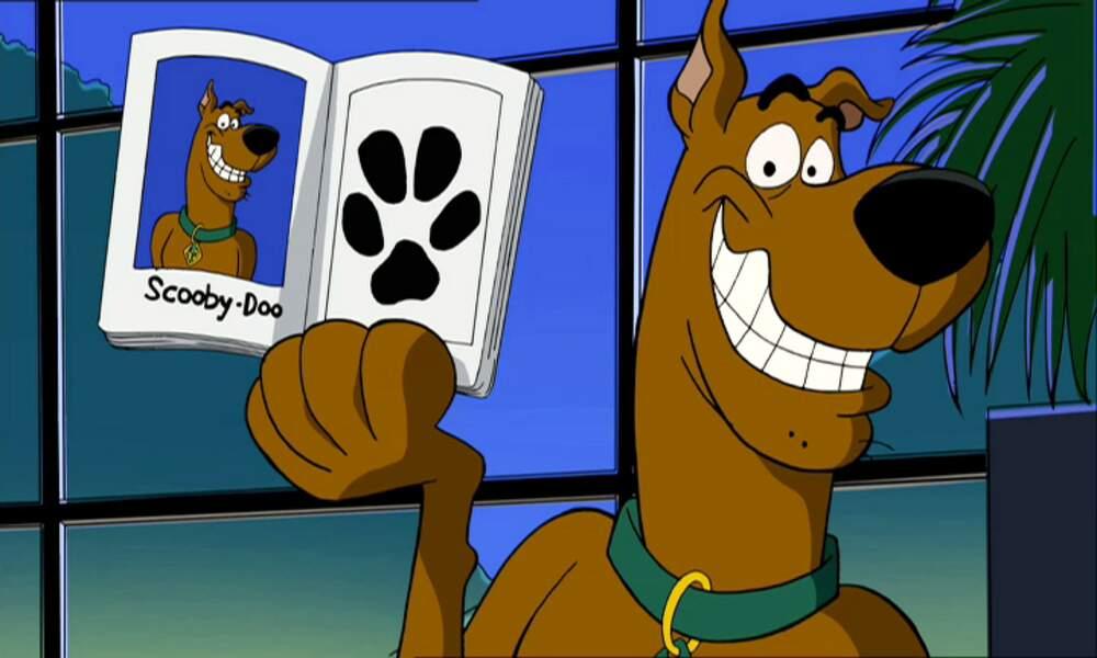 Scooby Doo, le chien de la série animée du même nom