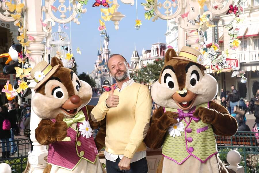 Pierre-François Martin-Laval fête le printemps à Disneyland Paris