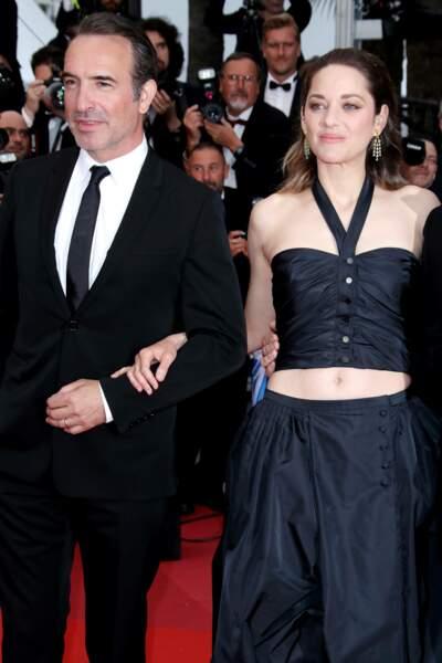 Marion Cotillard accompagnée de Jean Dujardin