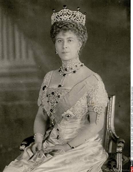 La reine Mary était la mère de George VI et la grand-mère d'Elisabeth II
