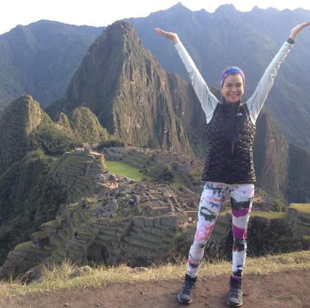 Tout comme Teri Hatcher, qui a réussi son ascension du Machu Pichu.