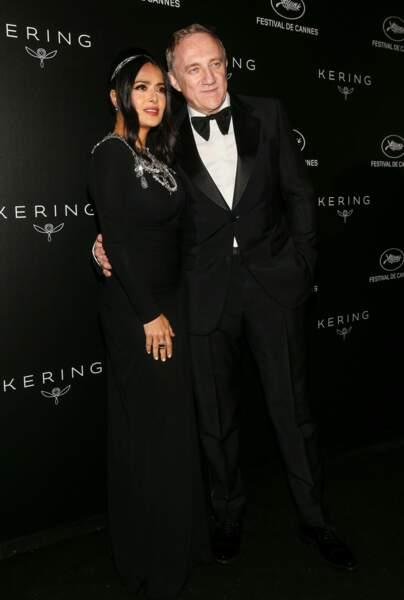 Salma Hayek et Francois-Henri Pinault, toujours aussi amoureux