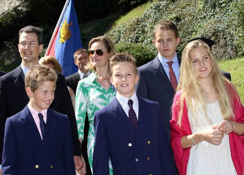 Liechtenstein : le prince Joseph Wenceslas (à droite), 20 ans, bientôt à la tête d'un petit état