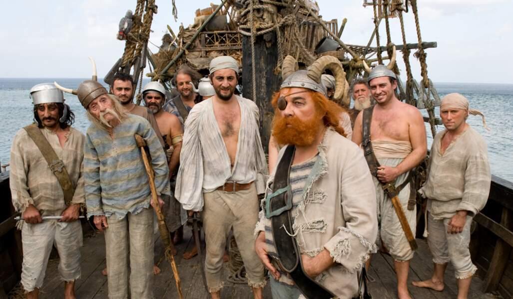Astérix et Obélix au service de sa majesté (2012) : Gérard Jugnot renfile le costume de pirate