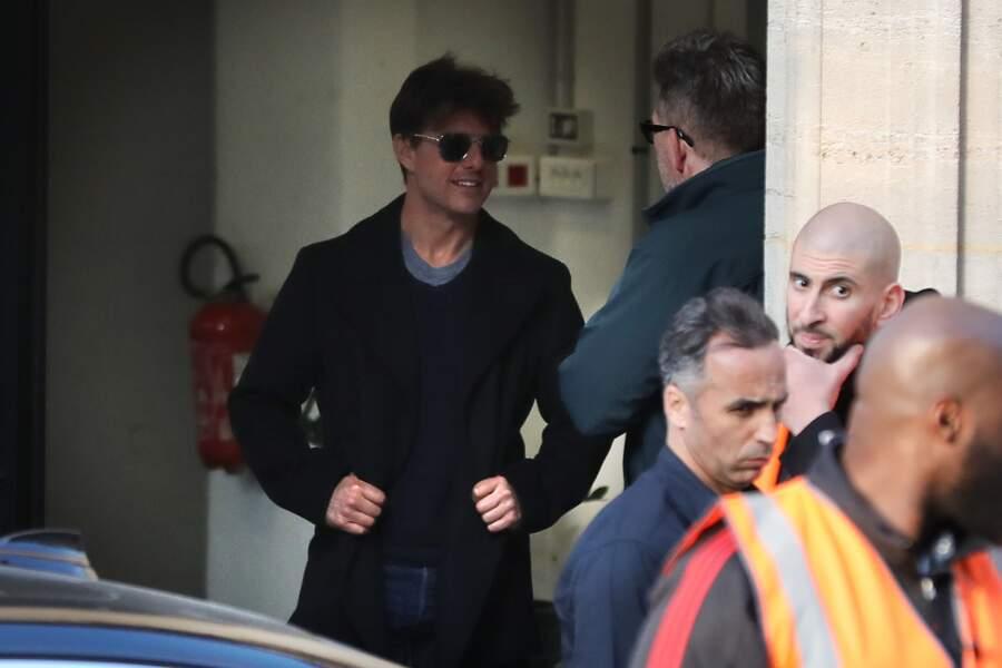 Avec ses lunettes noires, Tom Cruise a fait craquer plus d'une fan