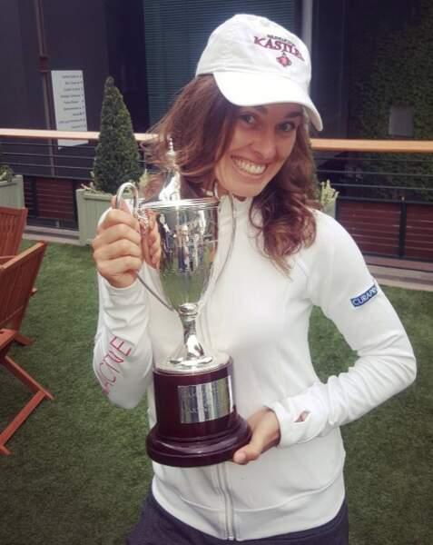 Sans oublier Martina Hingins, championne de double mixte à Wimbledon.