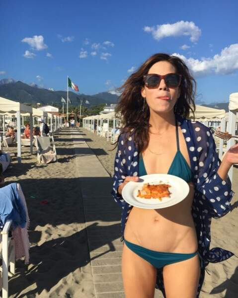 Pendant ce temps-là, la vie était trop dure pour Michelle Monaghan en Italie.