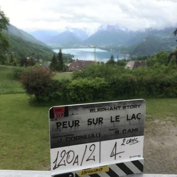 Julie de Bona a annoncé sur son compte Instagram le début du tournage de Peur sur le lac