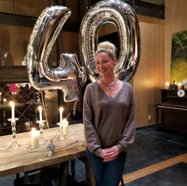 Plein de photos en vrac avant de se quitter : Katherine Heigl a eu 40 ans. Joyeux anniversaire !