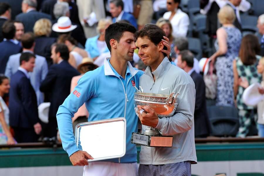 2014 : Face à Djokovic, Rafa est crevé... mais vainqueur !