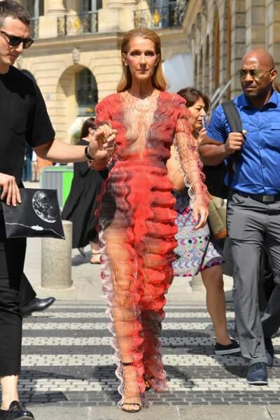 Un mirage ? Non, Celine Dion !
