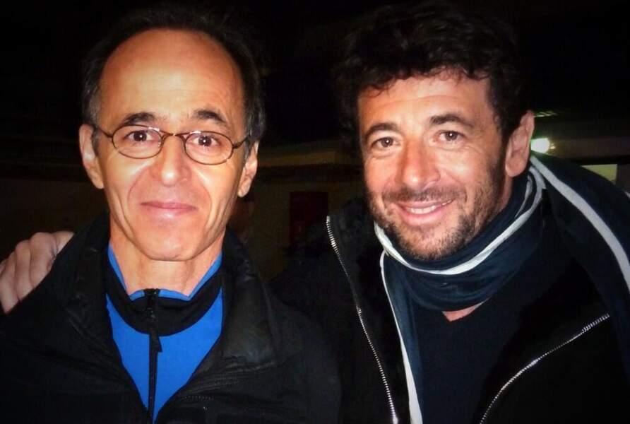 Jean-Jacques Goldman et Patrick Bruel