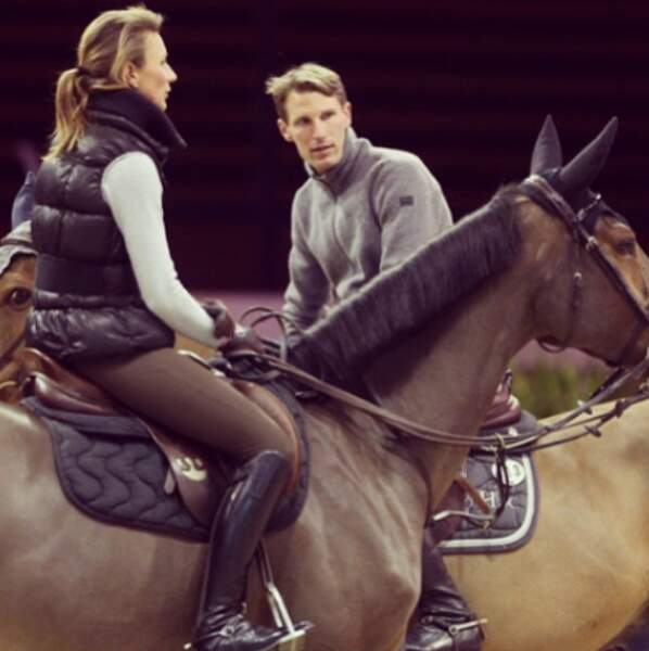 Les cavaliers tricolores Pénélope Leprévost et Kevin Staut, un couple bien discret