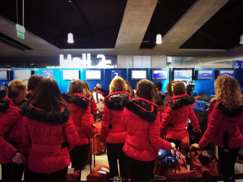 Nos superbes Miss régionales à l'aéroport !