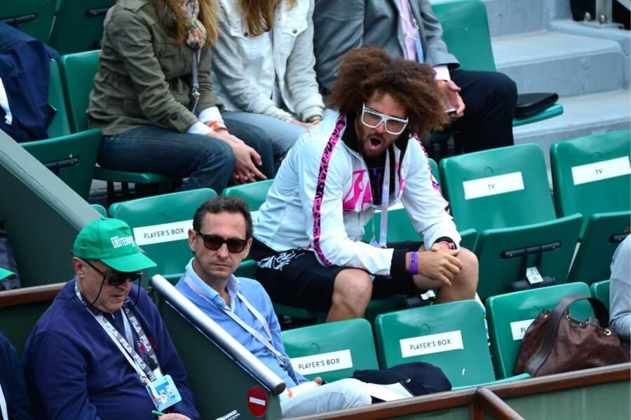 Malgré sa victoire 6-3, 6-0 face à Schiavone, la Biélorusse a semble-t-il été trop lente pour Monsieur.