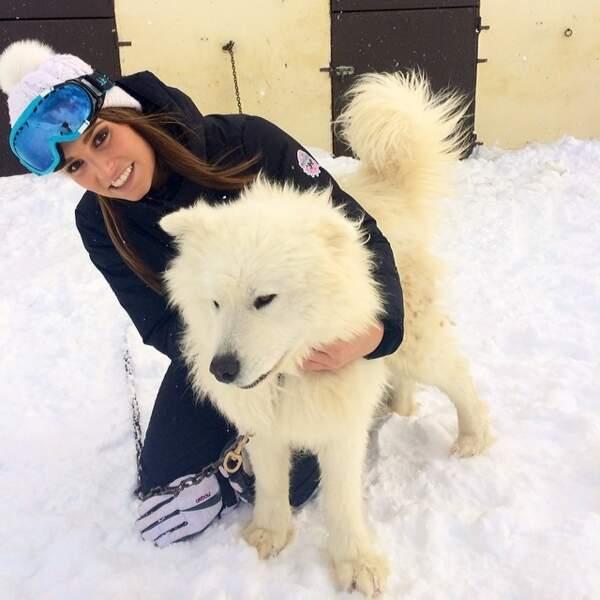 Propre. Elle a trouvé le chien de Jon Snow de Game of Thrones /