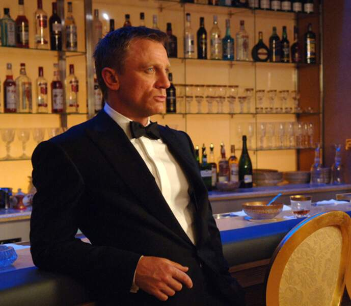James Bond dans Casino Royal, tranquille...
